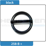 Ring with bar black