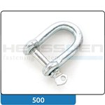 Shackle straight shape