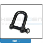 Shackle straight shape black