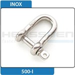 Shackle Inox straight shape