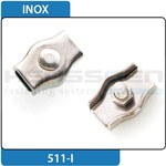 Simplex wire rope clips inox