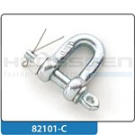 Shackle DIN 82101-C straight shape with pin