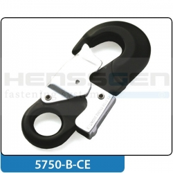 Safety hook black