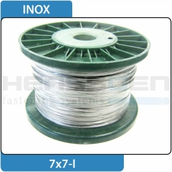 Wire rope 2 - Inox
